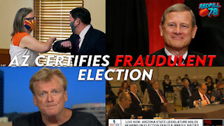AZ Election Fraud Hearing Witnesses Testify While Doucey Certifies