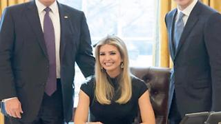 Why Is Ivanka Chilling In The White House? - Video