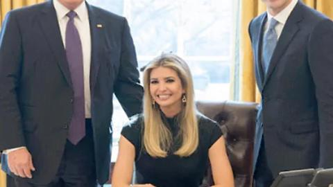 Why Is Ivanka Chilling In The White House?