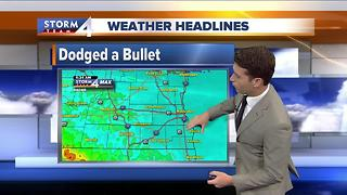 Meteorologist Josh Wurster's Saturday Morning Forecast