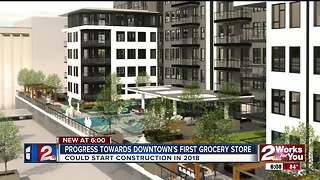 One step closer to downtown Tulsa grocery store - Video