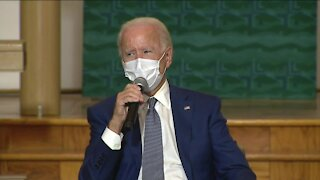 Biden meets with Blake family
