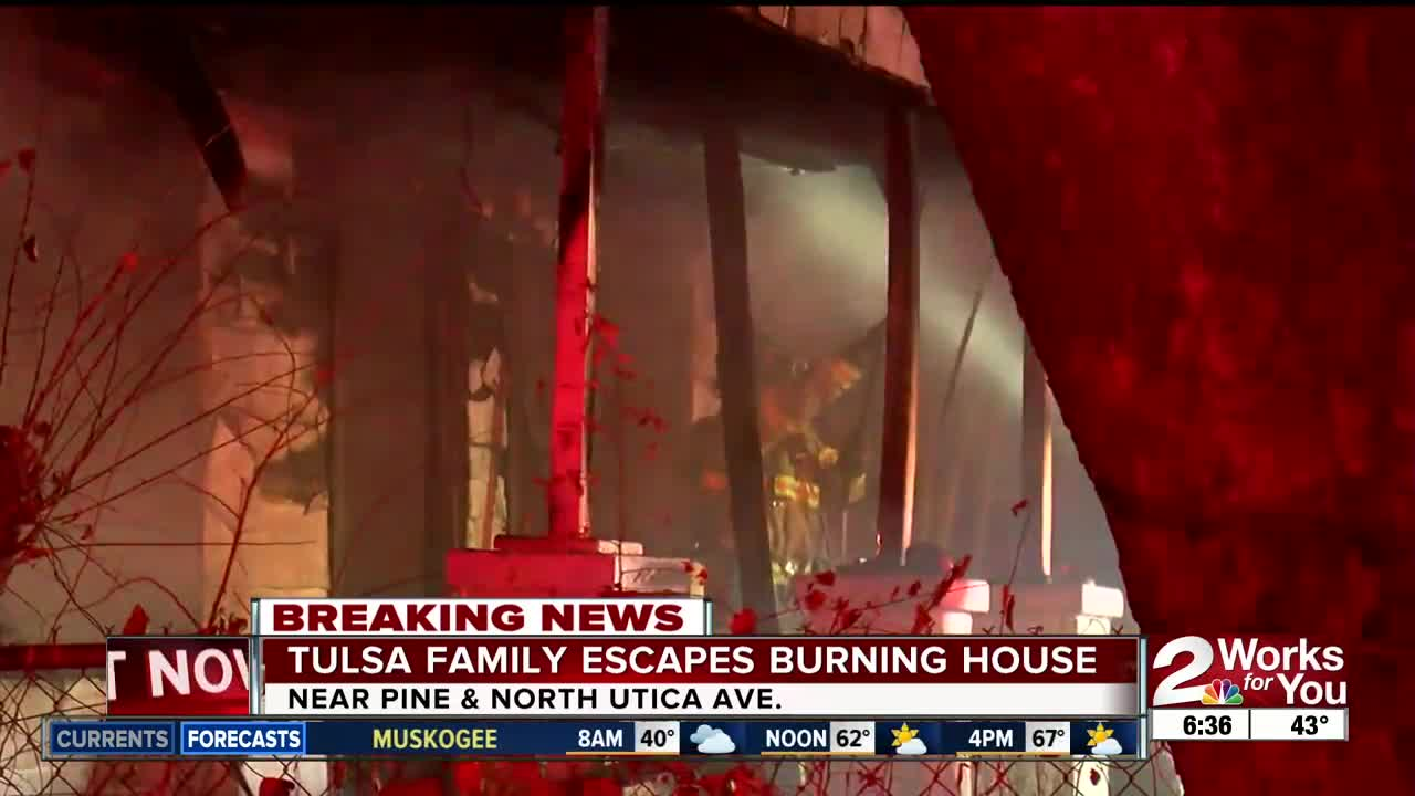 TFD: North Tulsa house fire could have been set intentionally