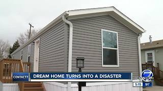 Dream home turns into disaster