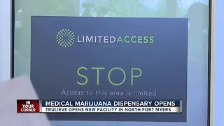 Medical marijuana dispensary open in North Fort Myers - Video