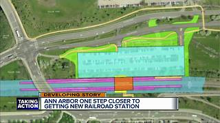 Ann Arbor wants input on new $81 million train station plan - Video