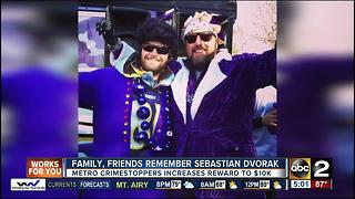 $10K reward offered in murder of Sebastian Dvorak - Video