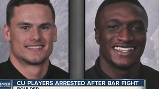 CU football players Abdul Jaleel Awini, Christopher Hill arrested after fight - Video