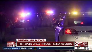 Juveniles lead police on high-speed chase - Video