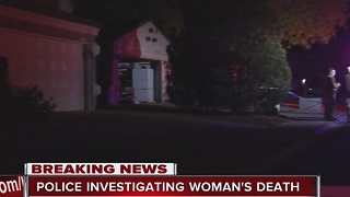 Police investigating woman's death in northwest Las Vegas - Video