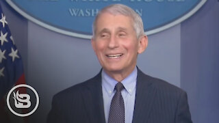 Dr. Fauci Uses First Briefing Under Biden Administration To Attack Trump