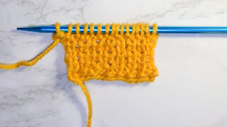 How to Knit the 1 x 1 Rib Stitch