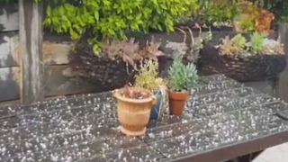 Hail Falls Over Macedon as Severe Thunderstorm Warnings Issued for Regional Victoria - Video