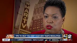 Tips to help you keep your New Year's Resolution - Video