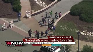 2 dead in shooting at San Bernardino elementary school - Video