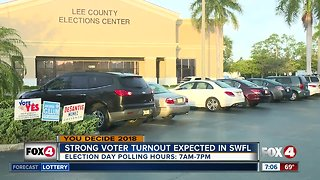 Big voter turnout expected for Election Day in Florida