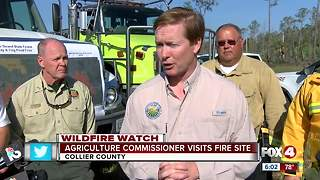 Agricuture Commissioner addresses continuing brush fire danger - Video