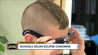 School prepare their students for the solar eclipse - Video