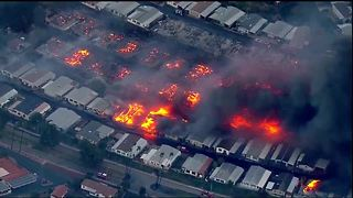 Lilac Fire destroys homes in North County
