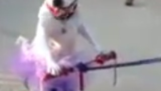 It's A Dog On A Tricycle! - Video