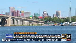Study looks at cities vying for Amazon's 2nd HQ - Video