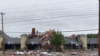 Powerful Storm, Possible Tornado Rock Tulsa - Video