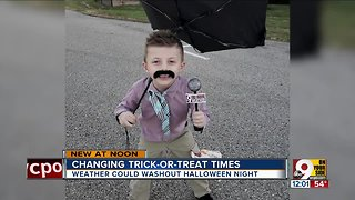 Changing trick-or-treat times - Video