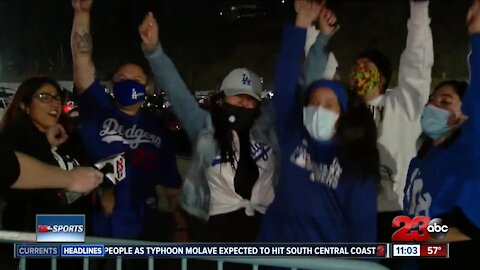 Dodgers clinch World Series with 3-1 victory over the Rays in Game 6