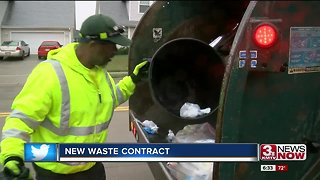 New waste contract