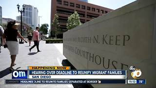 San Diego judge ruling on migrant families - Video