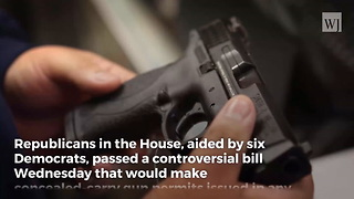 House Passes Top Priority for NRA - Video