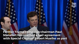 Former Trump Campaign Manager Paul Manafort Reaches Deal with Robert Mueller - Video
