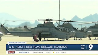 Davis Monthan hosts Red Flag Rescue training