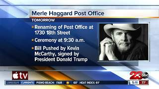 Merle Haggard Post Office - Video