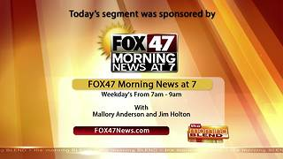 Fox 47 Morning News - 1/4/18 - Video