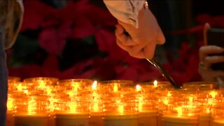Candlelight vigil held for Milwaukee 2020 homicide vicitims