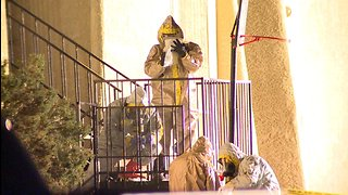 Man's death prompts hazmat scare