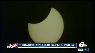 Throwback: 1979 solar eclipse in Indiana - Video