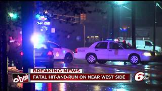 Man in motorized chair struck, killed by vehicle on Indianapolis' west side - Video