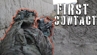 Afghanistan Firefight - US troops first firefight of deployment