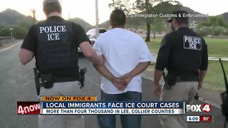 Over 4,000 immigrants in Lee, Collier Counties face ICE hearings - Video