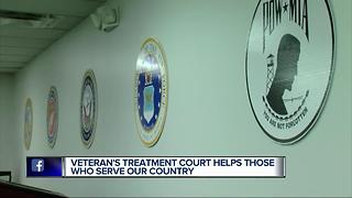 Veterans' treatment court helps those who serve our country - Video