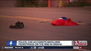 Police: Car vs. pedestrians rises in Omaha - Video