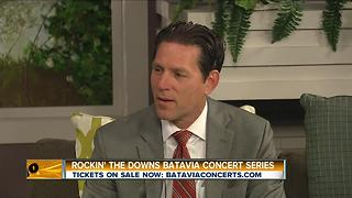 Henry Wojtazak Gives Us the Scoop on Upcoming Batavia Downs Concerts! - Video