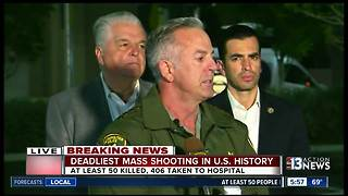 Las Vegas mass shooting: deaths over 50, injuries over 400 according to police