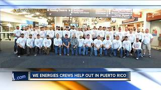 We Energies sends aid to Puerto Rico - Video