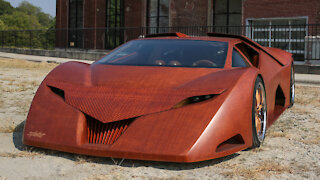 Splinter - The World's First Wooden Supercar | RIDICULOUS RIDES