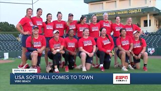 USA Softball comes to Jackie Robinson Complex