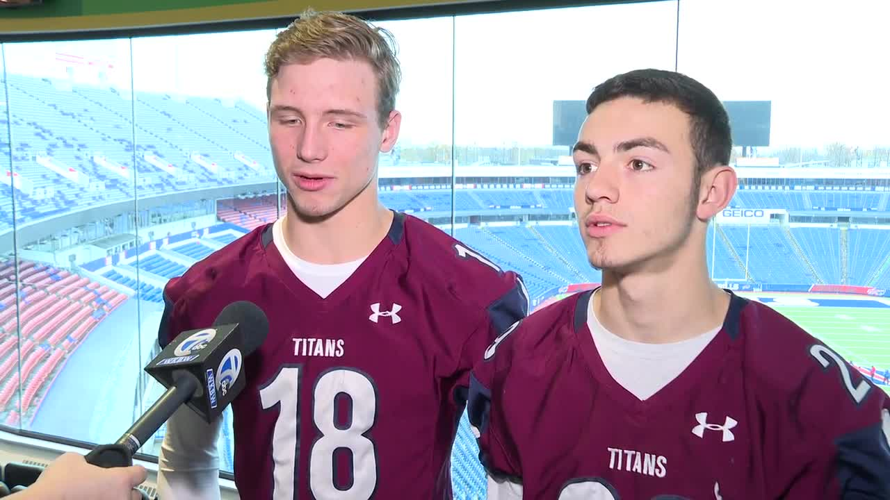 Frank/Ell players talk section title game against CSP