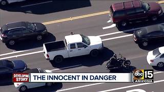 Carjacking victim, witnesses speak out after Valley-wide pursuit - Video